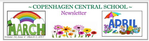 March/April Newsletter